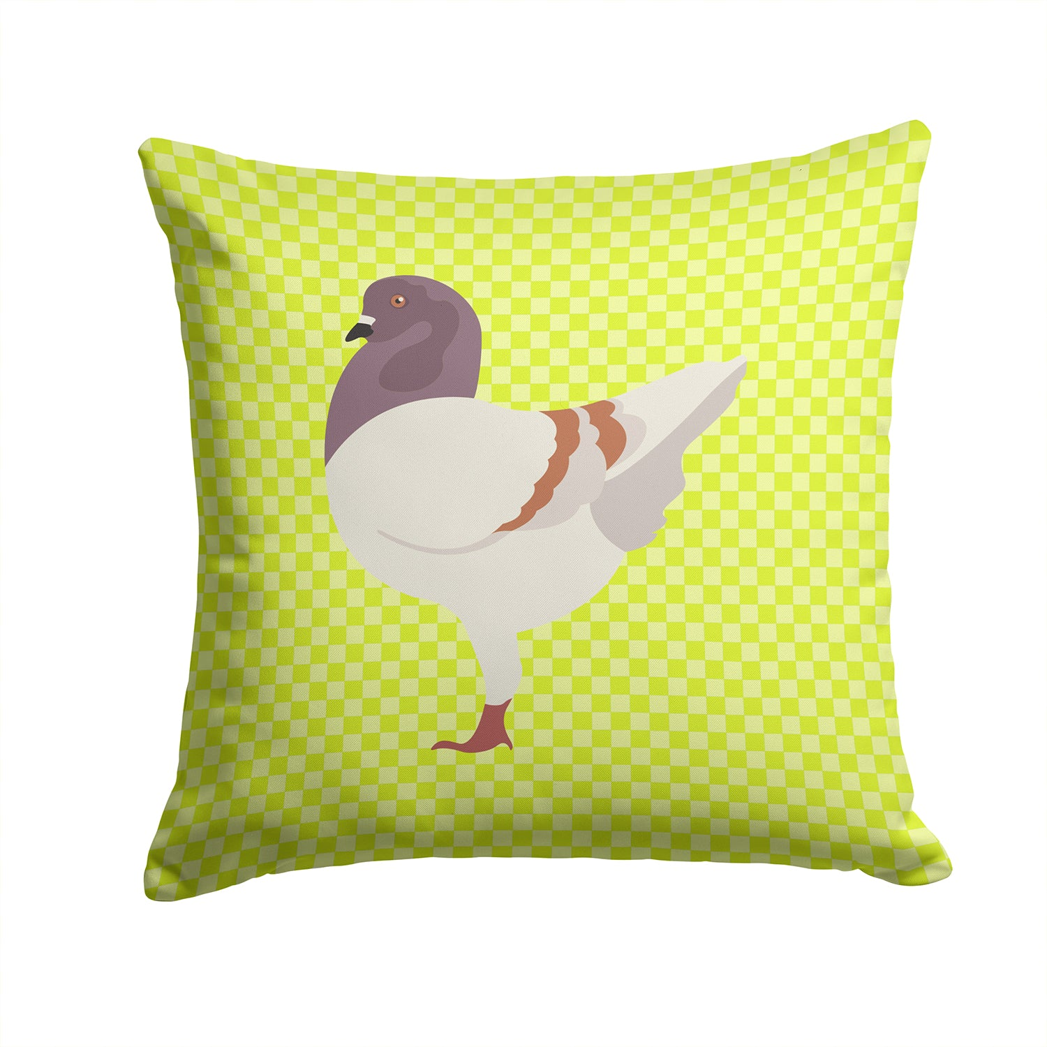Buy this German Modena Pigeon Green Fabric Decorative Pillow BB7775PW1414