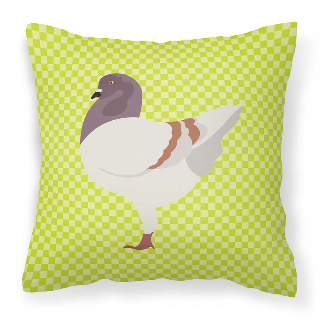 German Modena Pigeon Green Fabric Decorative Pillow BB7775PW1818 by Caroline's Treasures