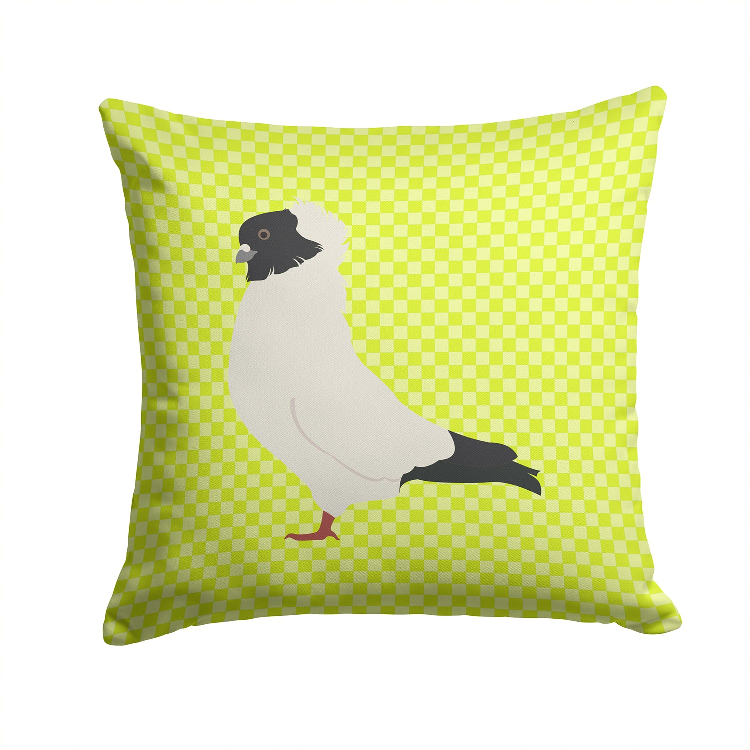 Nun Pigeon Green Fabric Decorative Pillow BB7778PW1414 by Caroline's Treasures
