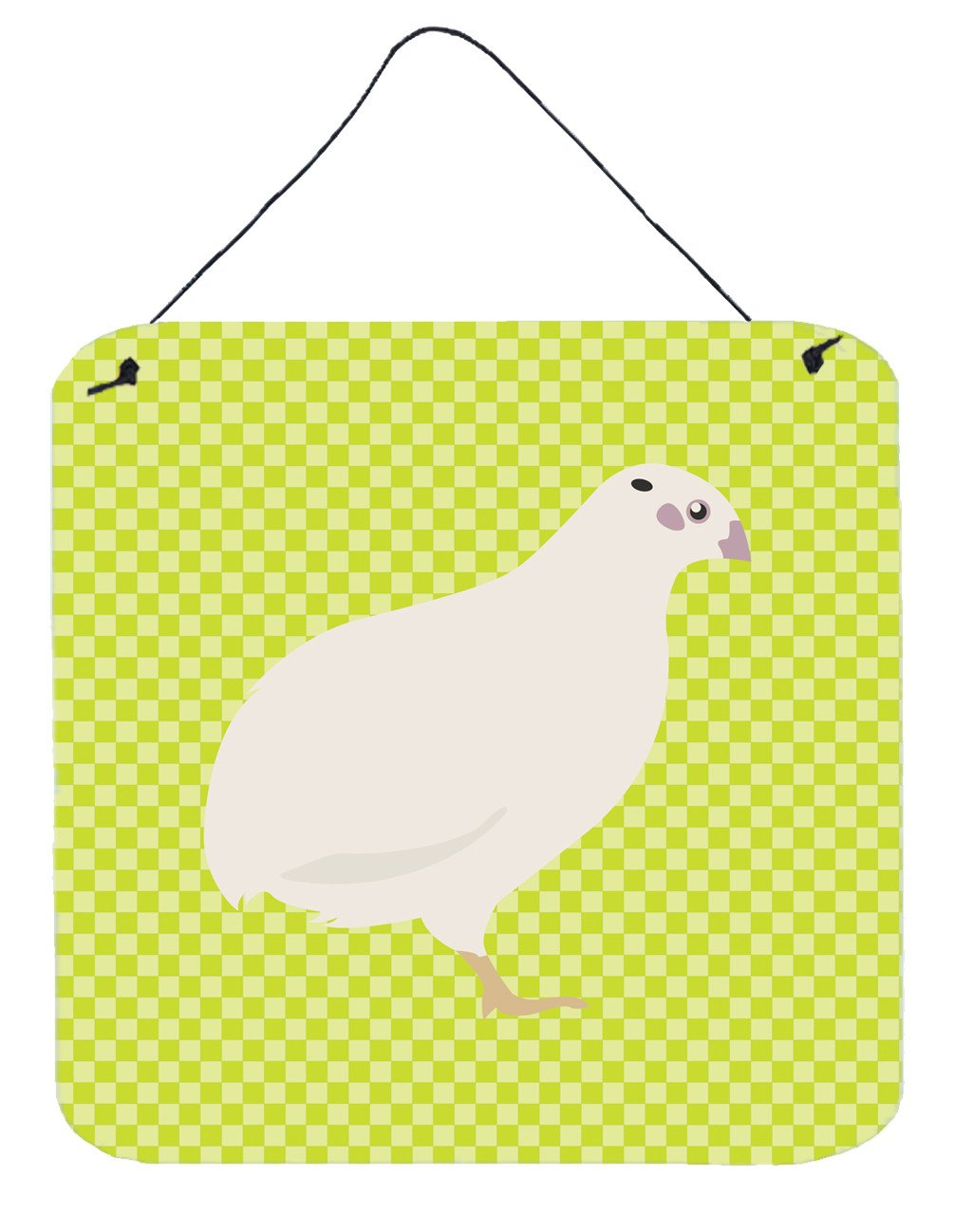 Buy this Texas Quail Green Wall or Door Hanging Prints BB7783DS66