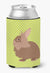 Lionhead Rabbit Green Can or Bottle Hugger BB7786CC by Caroline's Treasures