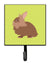 Buy this Lionhead Rabbit Green Leash or Key Holder