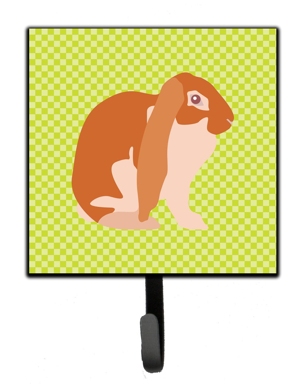 Buy this English Lop Rabbit Green Leash or Key Holder