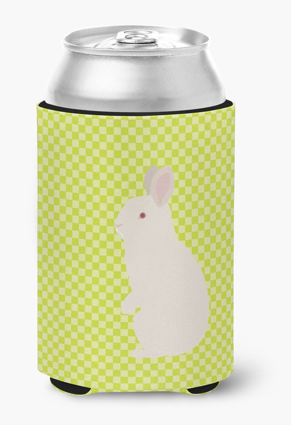 New Zealand White Rabbit Green Can or Bottle Hugger BB7791CC by Caroline's Treasures