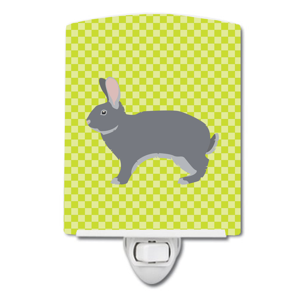 Buy this Giant Chinchilla Rabbit Green Ceramic Night Light BB7792CNL