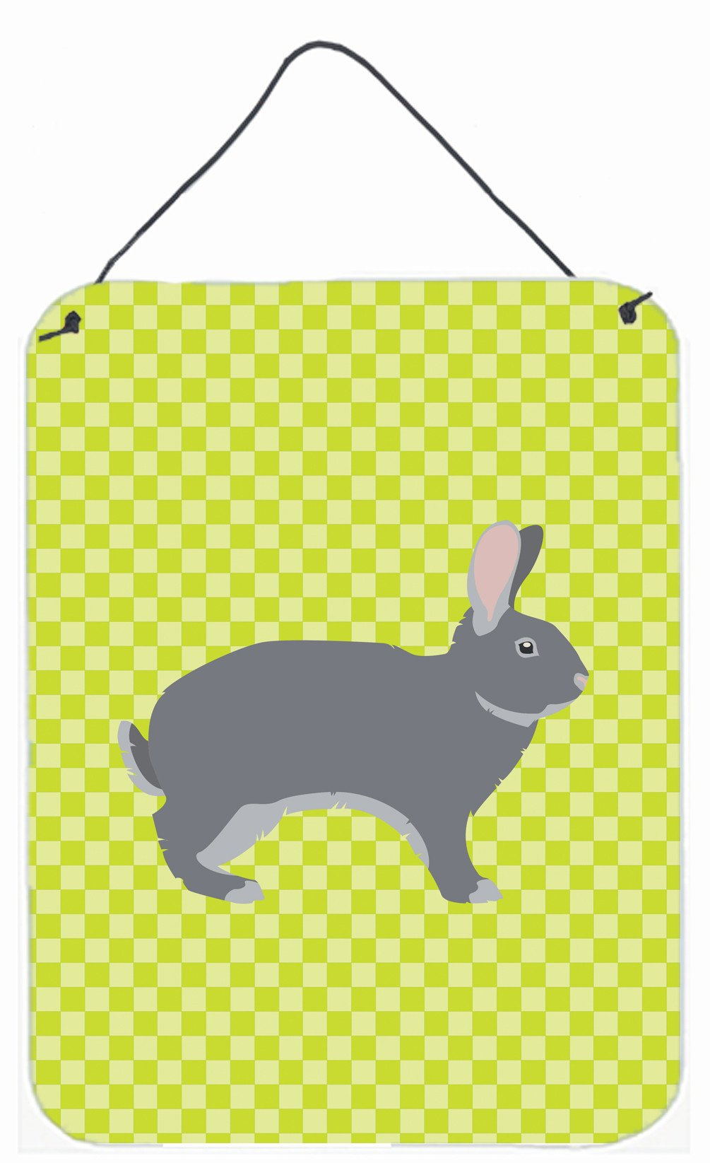Buy this Giant Chinchilla Rabbit Green Wall or Door Hanging Prints BB7792DS1216