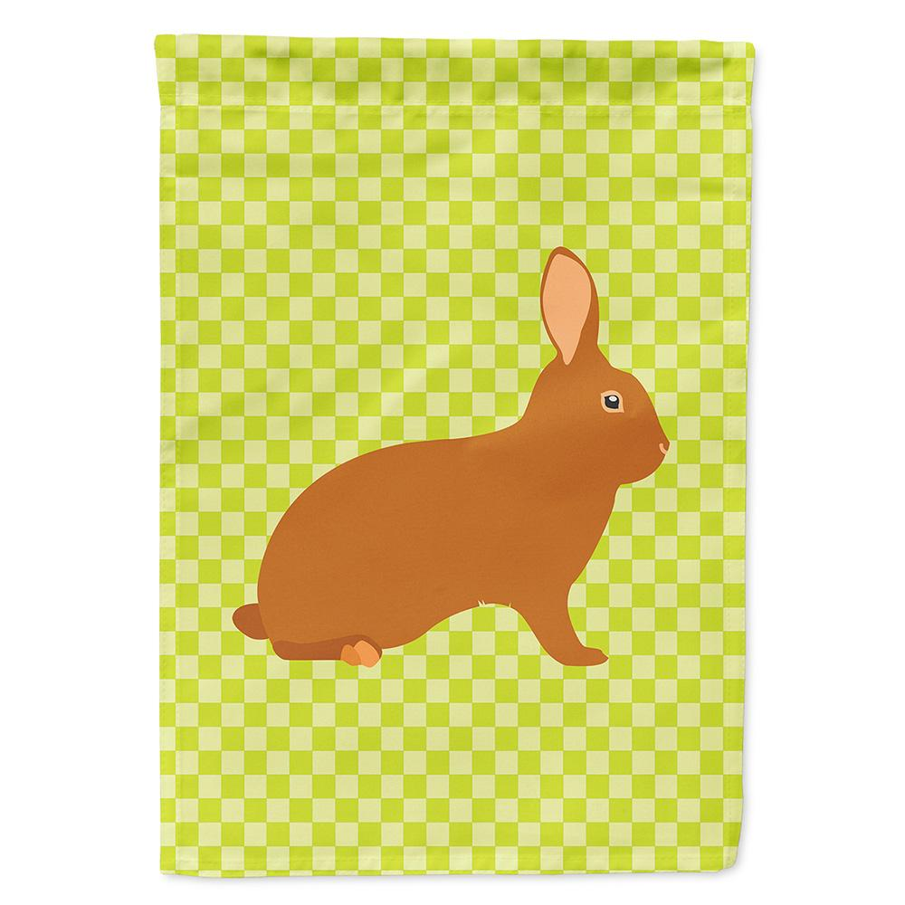 Rex Rabbit Green Flag Garden Size by Caroline's Treasures