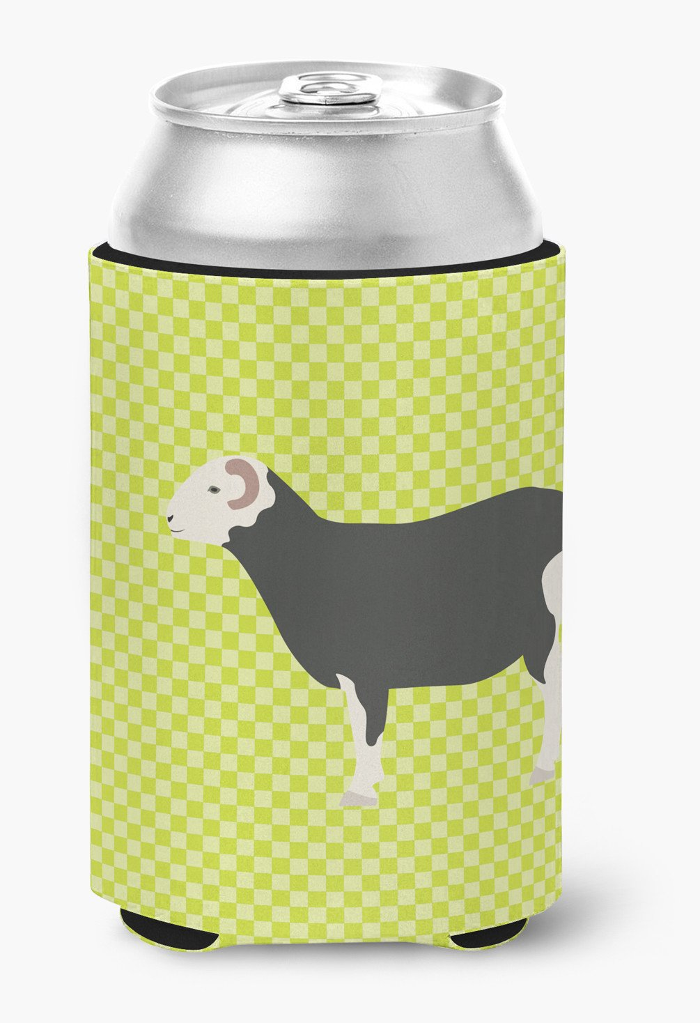 Herwick Sheep Green Can or Bottle Hugger BB7796CC by Caroline's Treasures
