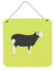 Herwick Sheep Green Wall or Door Hanging Prints BB7796DS66 by Caroline's Treasures