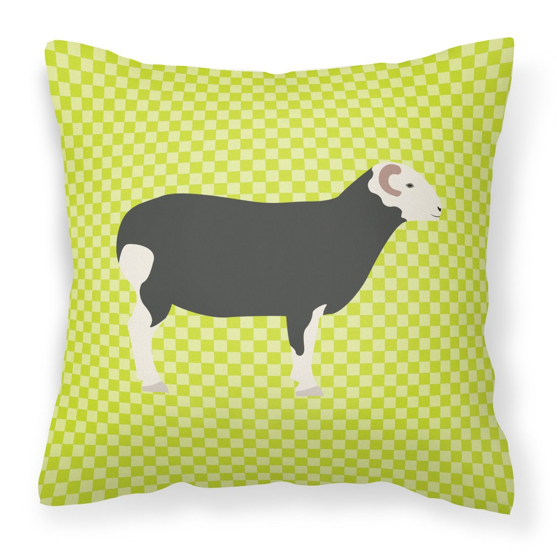 Herwick Sheep Green Fabric Decorative Pillow BB7796PW1818 by Caroline's Treasures