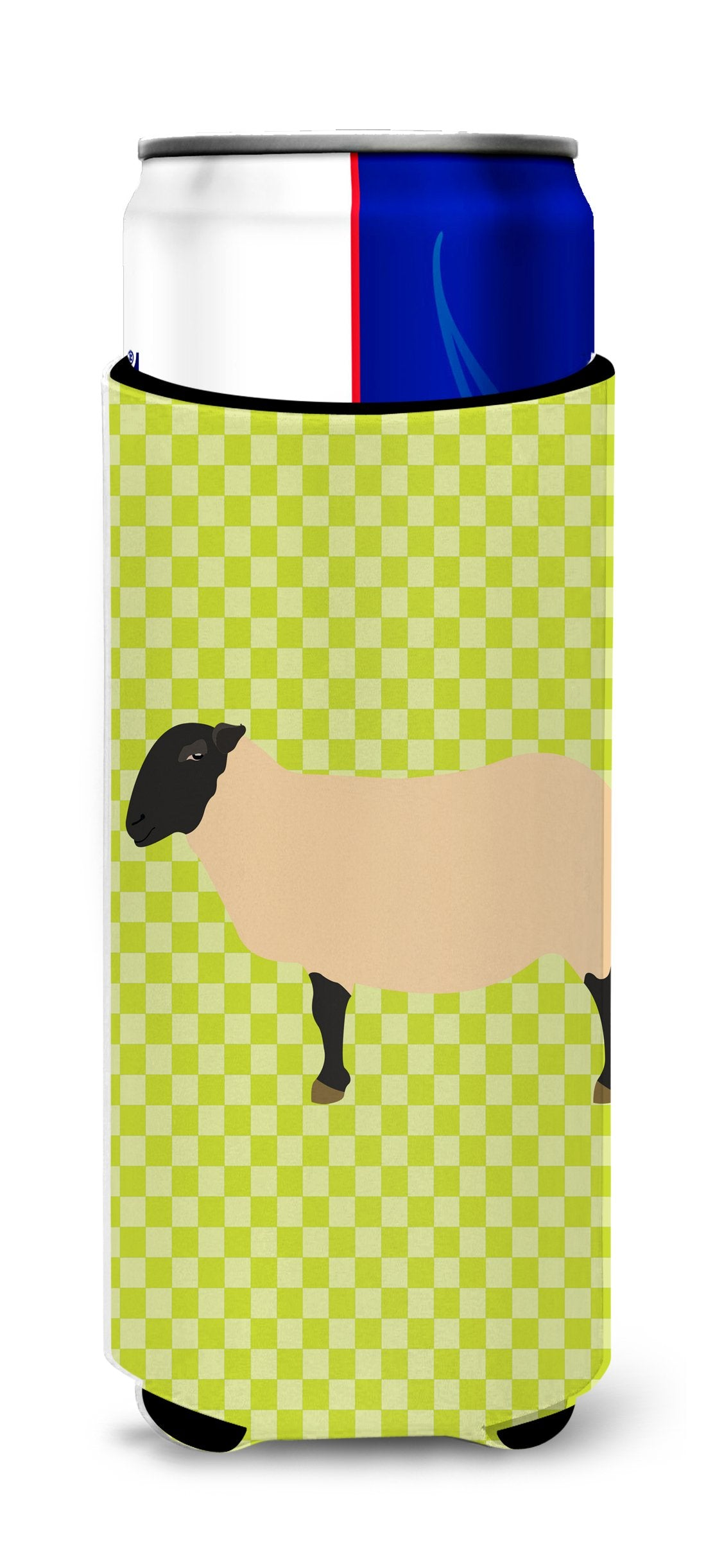 Buy this Suffolk Sheep Green Michelob Ultra Hugger for slim cans