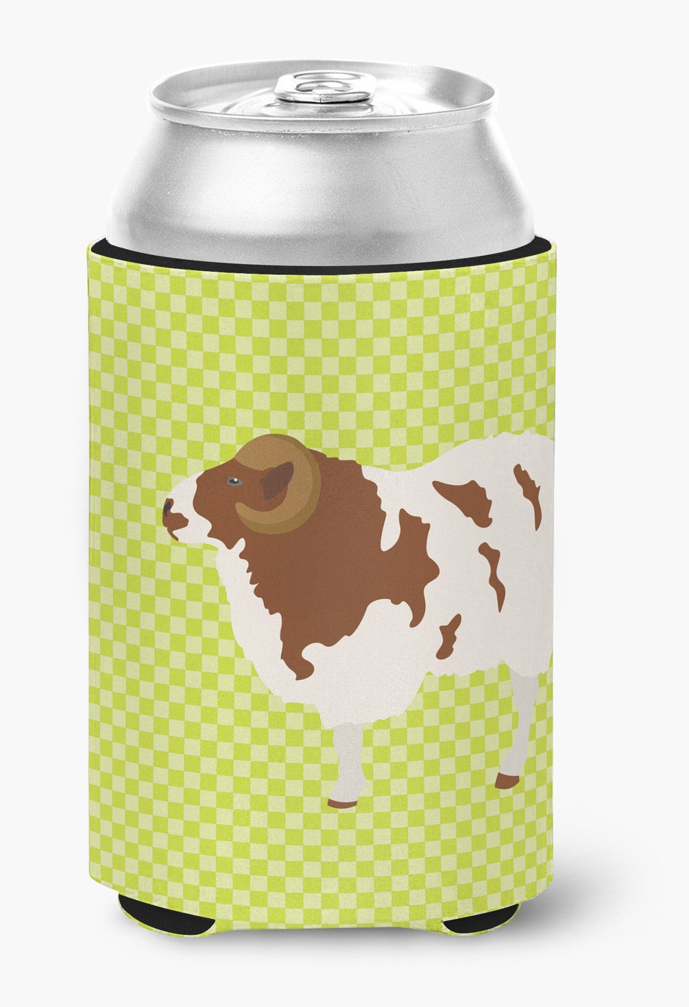 Jacob Sheep Green Can or Bottle Hugger BB7801CC by Caroline's Treasures