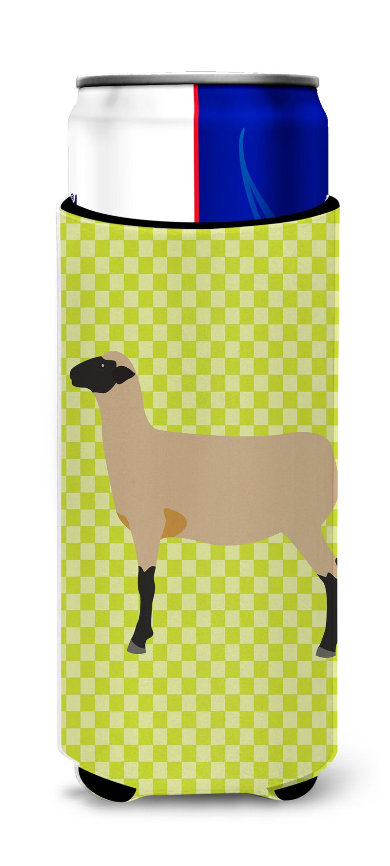 Buy this Hampshire Down Sheep Green Michelob Ultra Hugger for slim cans