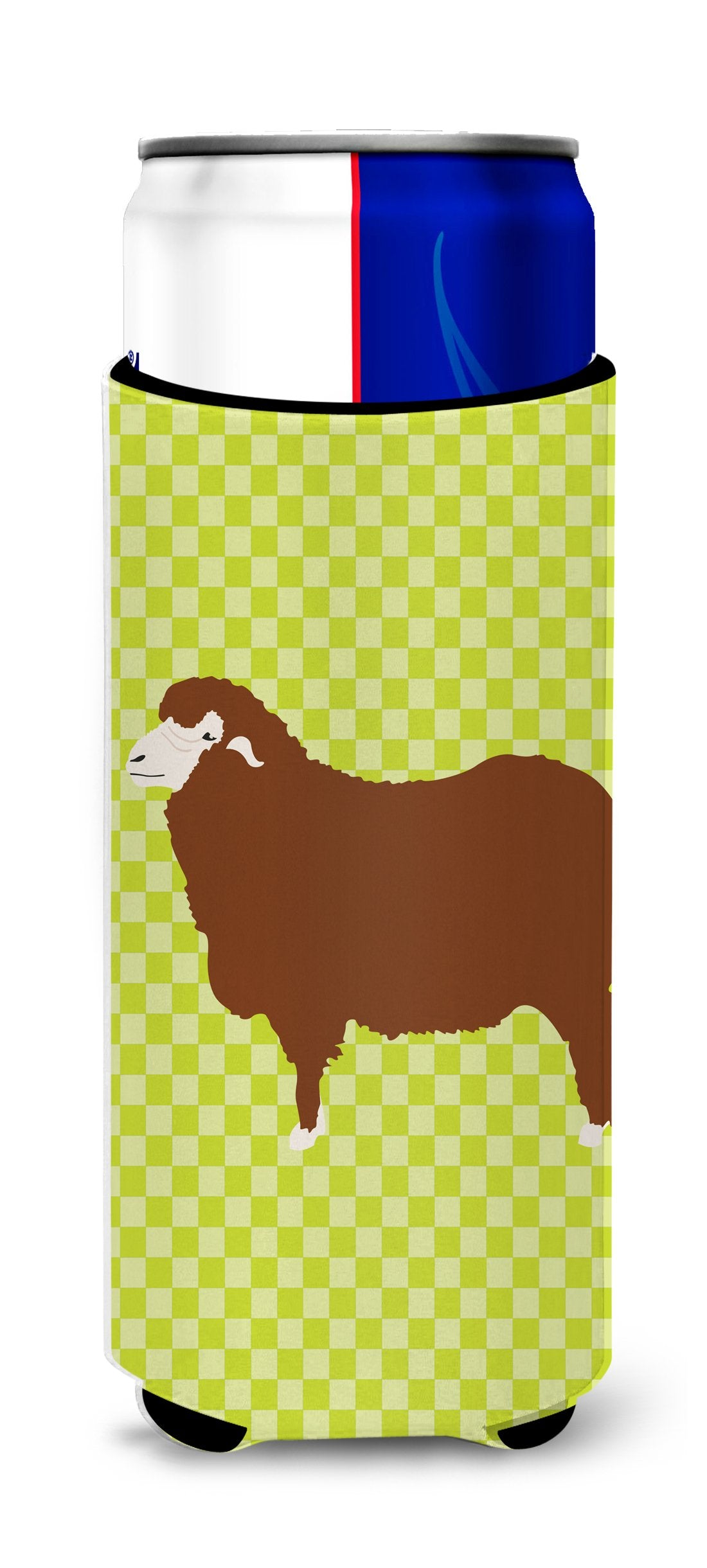 Buy this Merino Sheep Green Michelob Ultra Hugger for slim cans