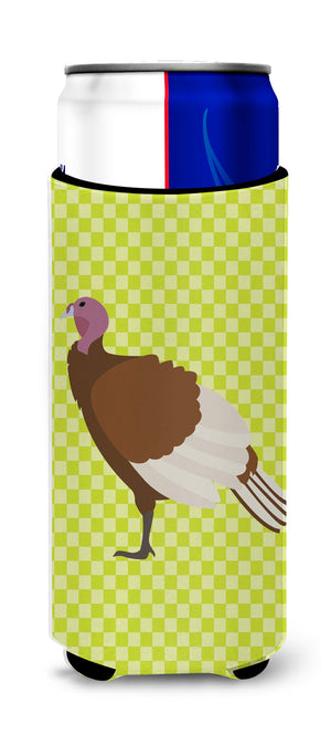 Buy this Bourbon Red Turkey Hen Green Michelob Ultra Hugger for slim cans
