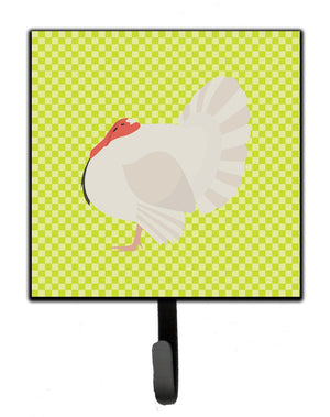 Buy this White Holland Turkey Green Leash or Key Holder