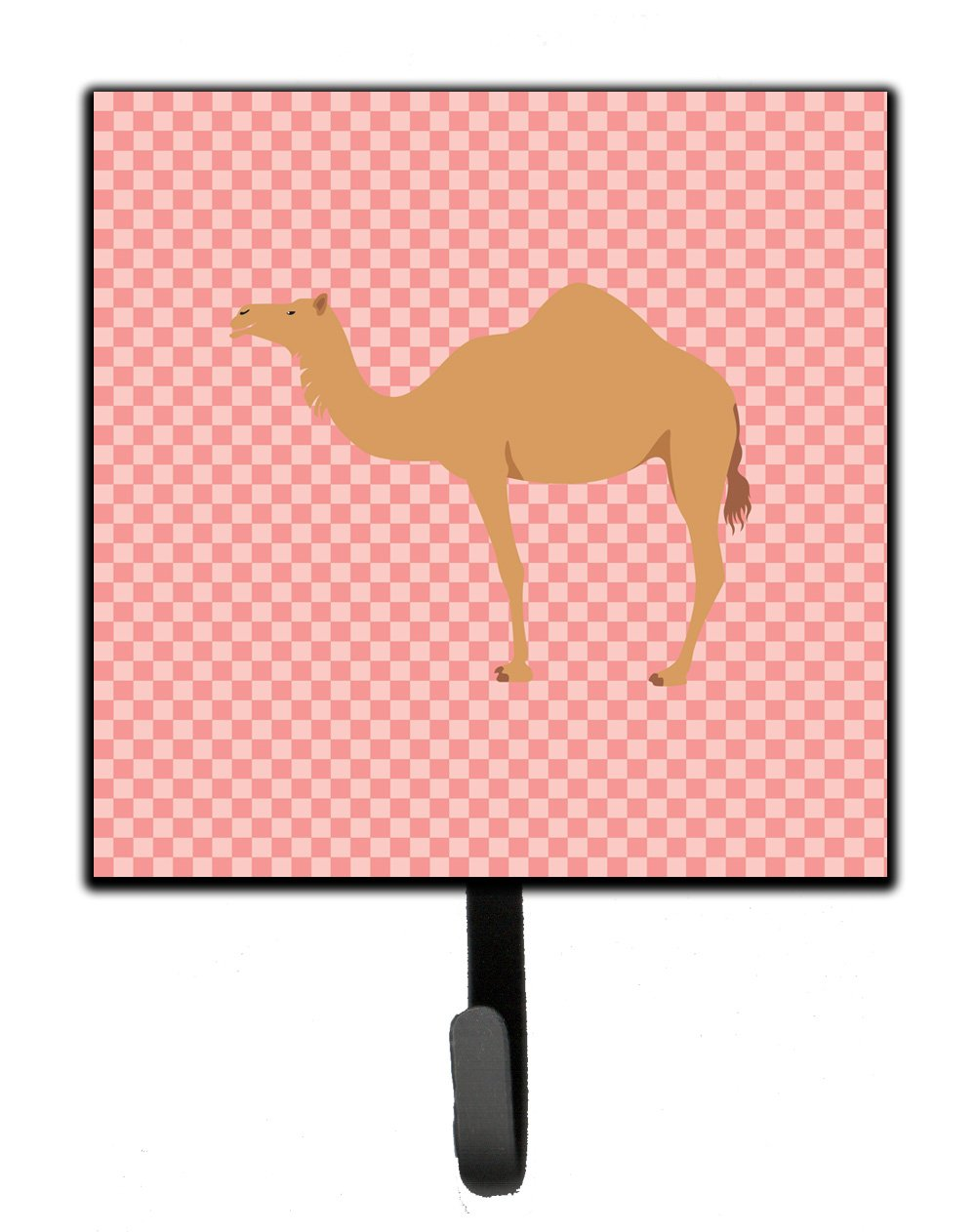 Buy this Arabian Camel Dromedary Pink Check Leash or Key Holder