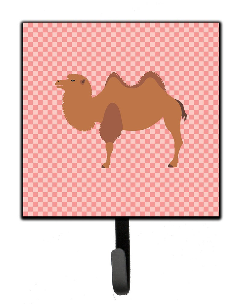 Buy this Bactrian Camel Pink Check Leash or Key Holder