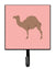 Buy this F1 Hybrid Camel Pink Check Leash or Key Holder