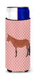 Buy this Mule Pink Check Michelob Ultra Hugger for slim cans