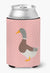 Saxony Sachsenente Duck Pink Check Can or Bottle Hugger BB7863CC by Caroline's Treasures