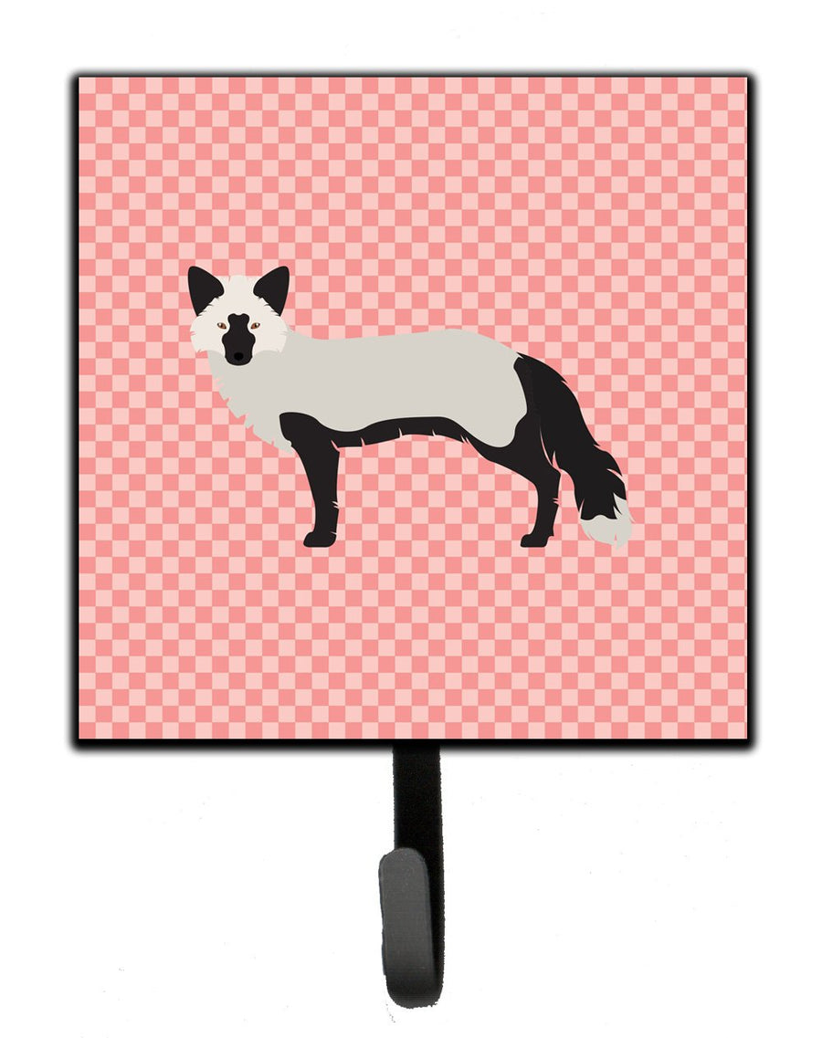 Buy this Silver Fox Pink Check Leash or Key Holder