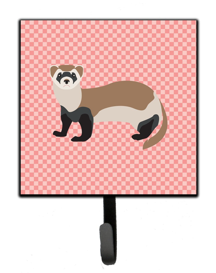 Buy this Ferret Pink Check Leash or Key Holder
