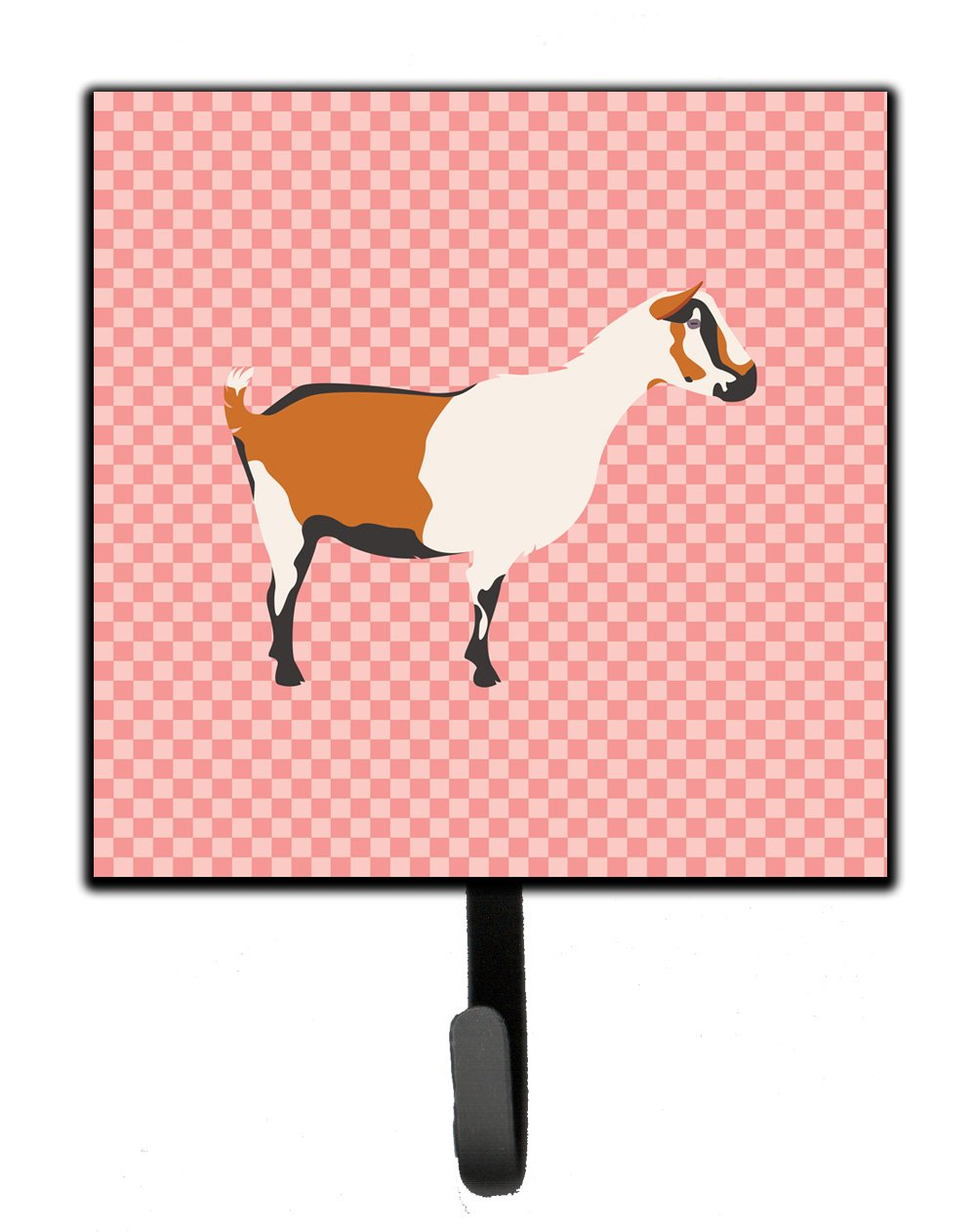 Buy this Alpine Goat Pink Check Leash or Key Holder