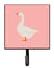 Buy this Embden Goose Pink Check Leash or Key Holder
