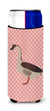 Buy this Chinese Goose Pink Check Michelob Ultra Hugger for slim cans