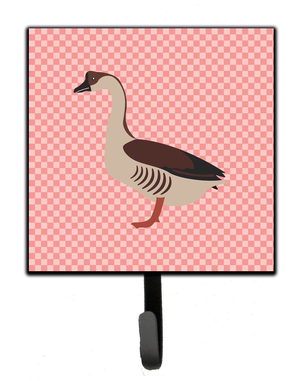 Buy this Chinese Goose Pink Check Leash or Key Holder