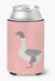 Buff Grey Back Goose Pink Check Can or Bottle Hugger BB7901CC by Caroline's Treasures