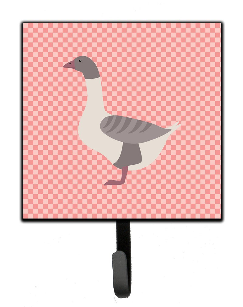 Buy this Buff Grey Back Goose Pink Check Leash or Key Holder