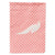 Buy this White Peacock Peafowl Pink Check Flag Garden Size