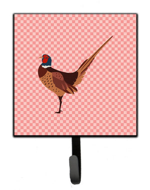 Buy this Ring-necked Common Pheasant Pink Check Leash or Key Holder