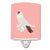 Buy this German Helmet Pigeon Pink Check Ceramic Night Light BB7944CNL