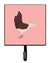 Buy this Capuchin Red Pigeon Pink Check Leash or Key Holder