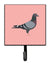 Buy this Racing Pigeon Pink Check Leash or Key Holder