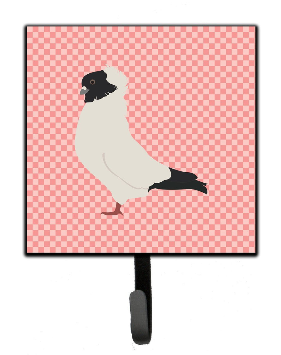 Buy this Nun Pigeon Pink Check Leash or Key Holder