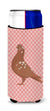 Buy this African Owl Pigeon Pink Check Michelob Ultra Hugger for slim cans