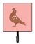Buy this African Owl Pigeon Pink Check Leash or Key Holder