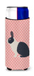 Buy this Dutch Rabbit Pink Check Michelob Ultra Hugger for slim cans
