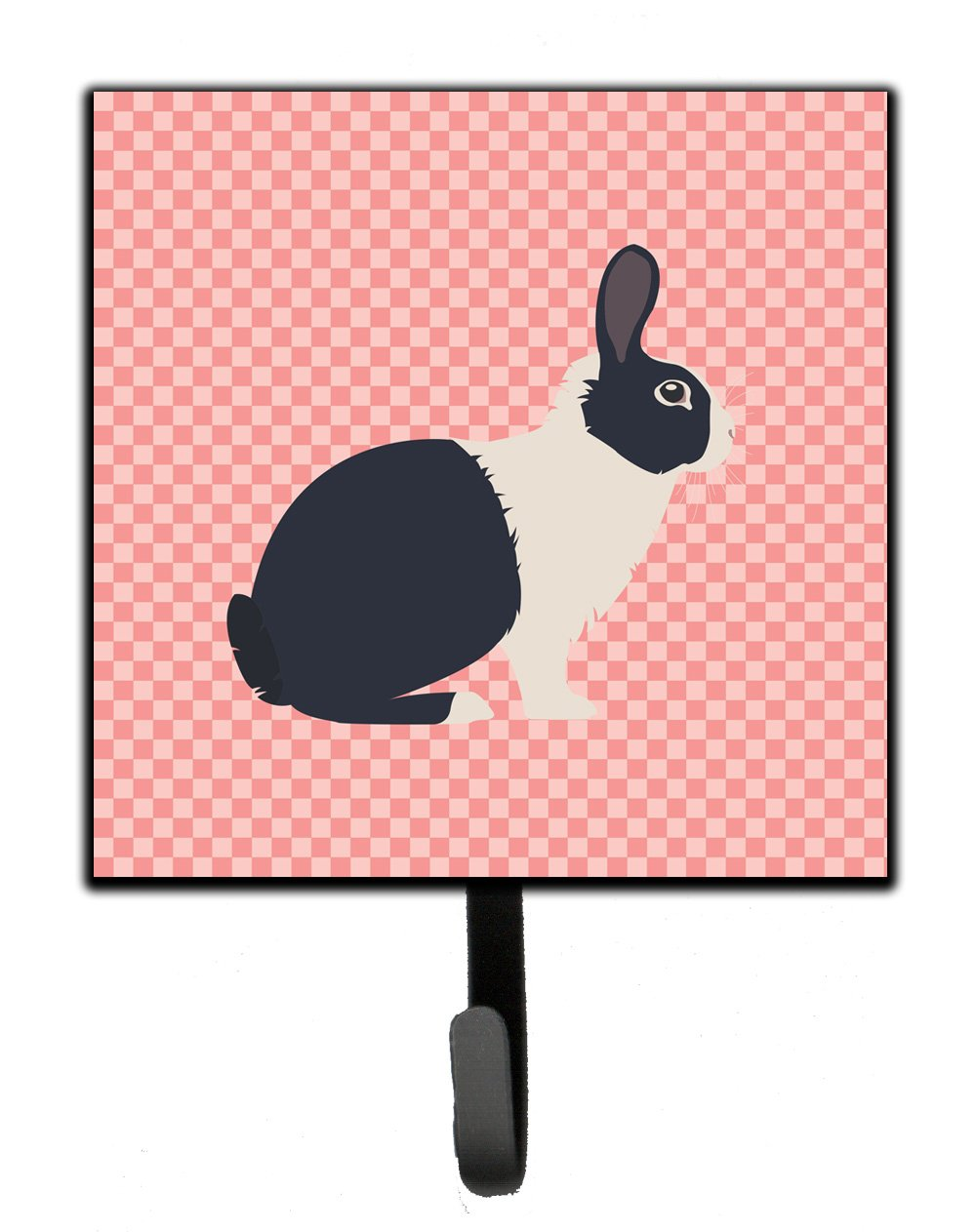 Buy this Dutch Rabbit Pink Check Leash or Key Holder