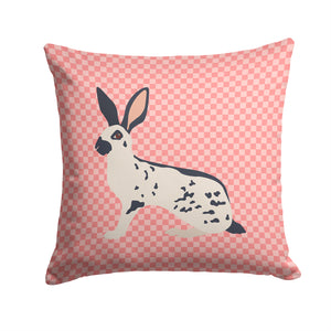 Buy this English Spot Rabbit Pink Check Fabric Decorative Pillow BB7961PW1414