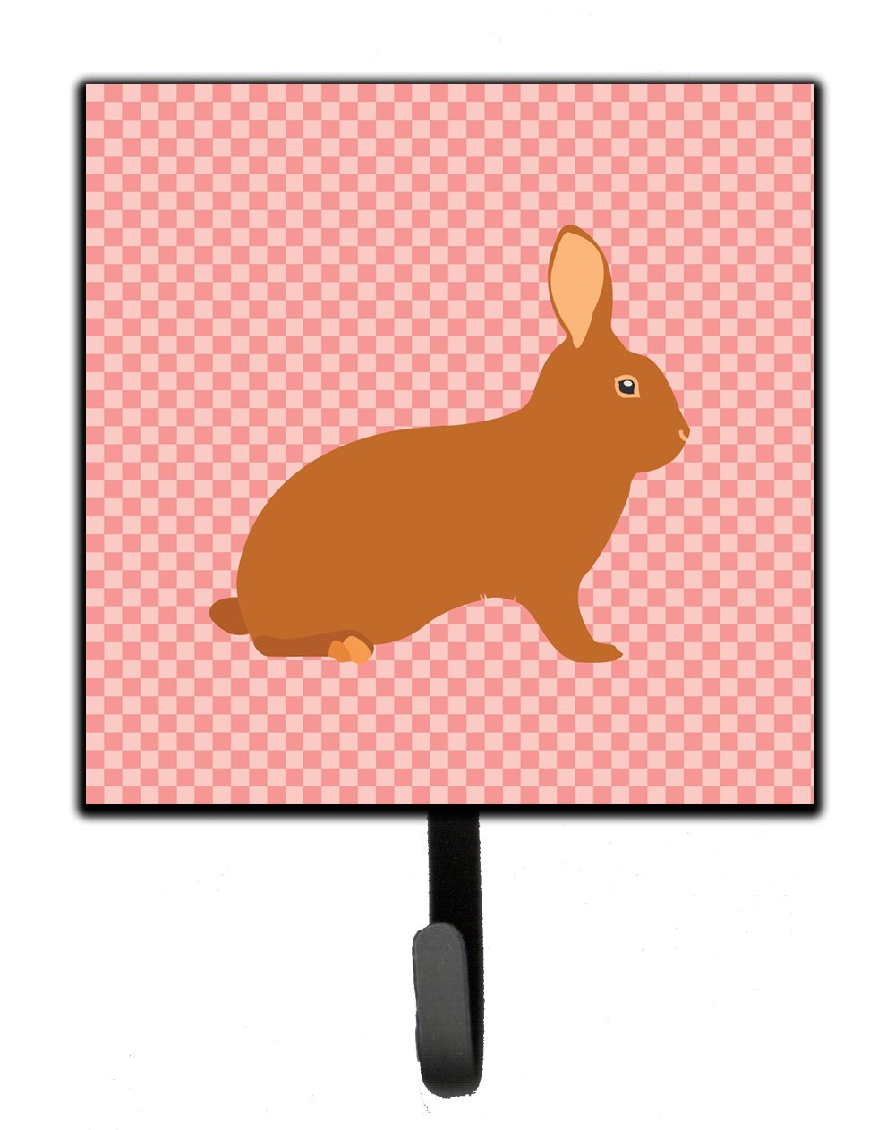 Buy this Rex Rabbit Pink Check Leash or Key Holder