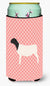 Dorper Sheep Pink Check Tall Boy Beverage Insulator Hugger BB7978TBC by Caroline's Treasures