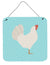 Leghorn Chicken Blue Check Wall or Door Hanging Prints BB8014DS66 by Caroline's Treasures