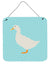 American Pekin Duck Blue Check Wall or Door Hanging Prints BB8034DS66 by Caroline's Treasures