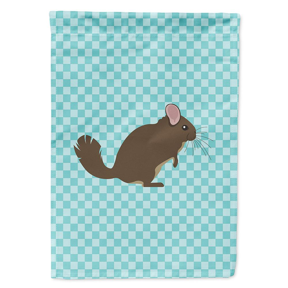 Buy this Chinchilla Blue Check Flag Garden Size