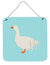 Sebastopol Goose Blue Check Wall or Door Hanging Prints BB8076DS66 by Caroline's Treasures